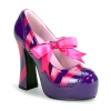 KITTY-32 Purple/Hot Pink Patent
